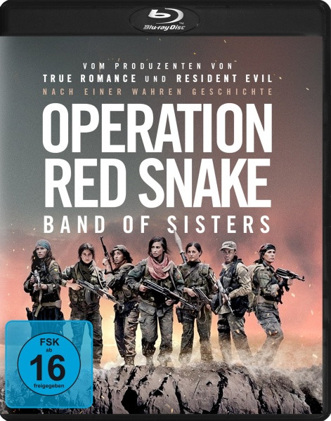 Operation Red Snake - Band of Sisters [Blu-ray]