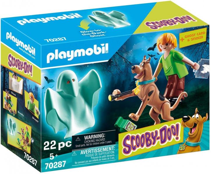 PLAYMOBIL SCOOBY-DOO! 70287 - Scooby und Shaggy mit Geist