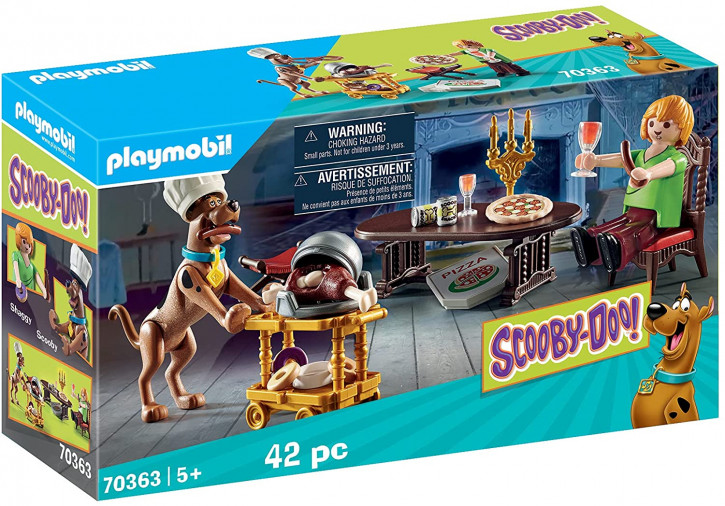 PLAYMOBIL SCOOBY-DOO! 70363 Abendessen mit Scooby