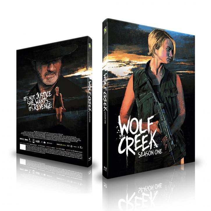 Wolf Creek - Staffel 1 - Limited Mediabook - Cover A [Blu-ray]
