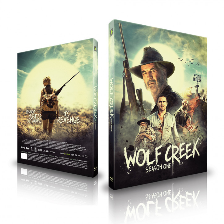 Wolf Creek - Staffel 1 - Limited Mediabook - Cover B [Blu-ray]