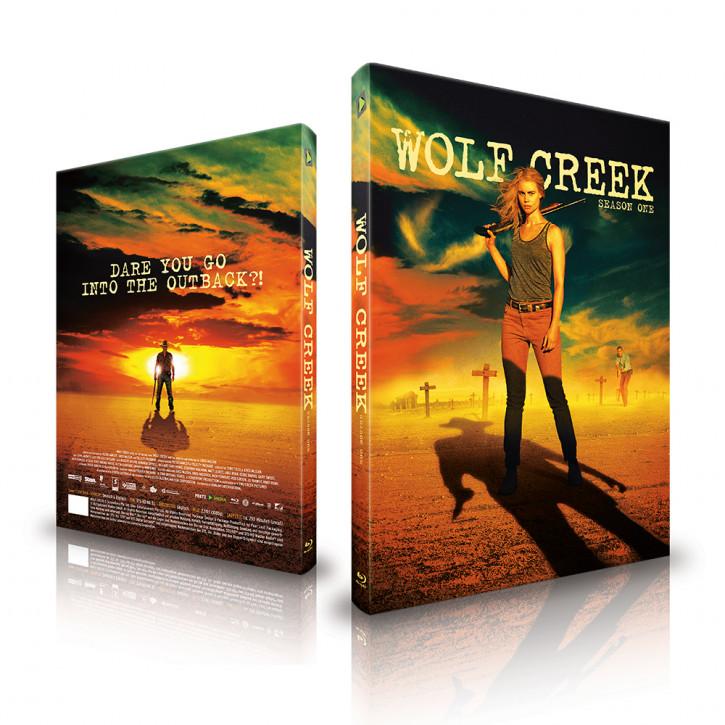 Wolf Creek - Staffel 1 - Limited Mediabook - Cover C [Blu-ray]