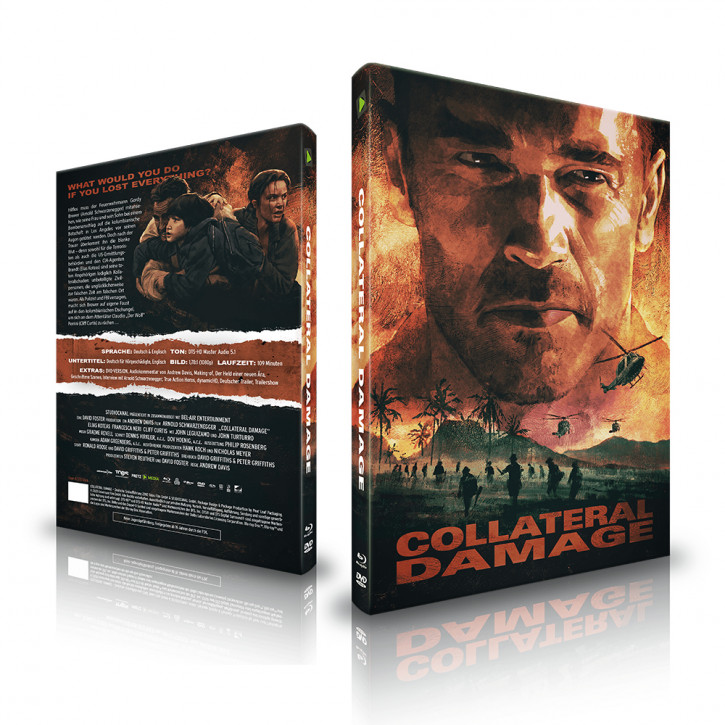 Collateral Damage - Limited Mediabook - Cover A [Blu-ray+DVD]