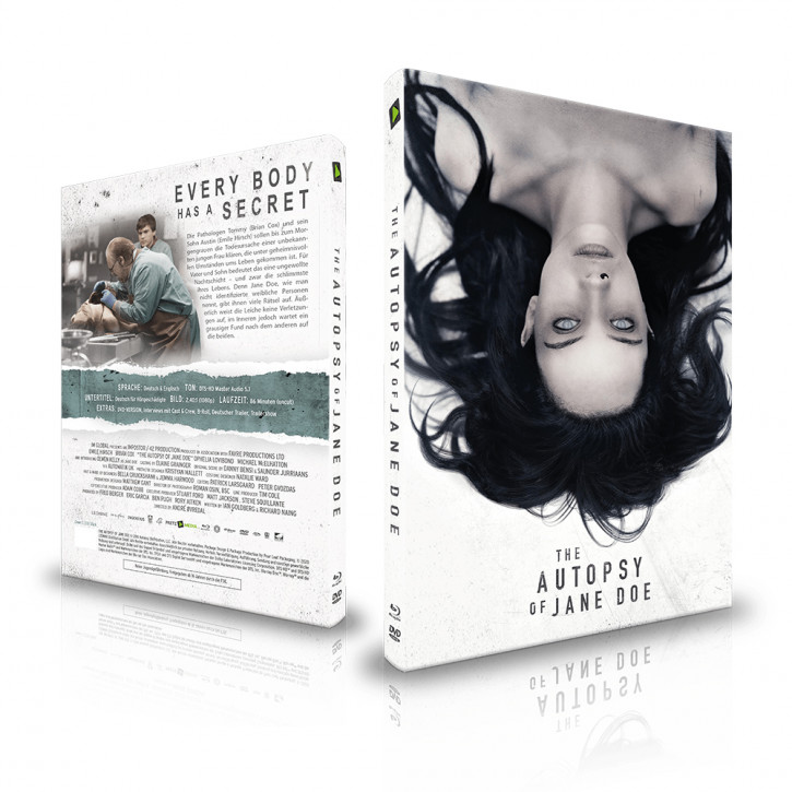 The Autopsy of Jane Doe - Limited Mediabook - Cover C [Blu-ray+DVD]