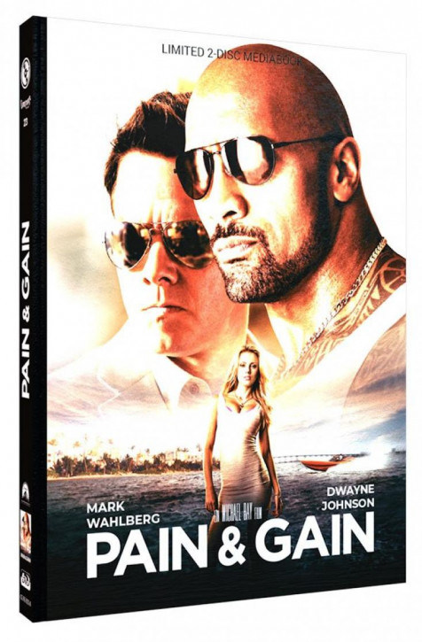 Pain & Gain - Limited Mediabook Edition - Cover A [Blu-ray+DVD]