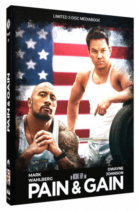 Pain & Gain - Limited Mediabook Edition - Cover B [Blu-ray+DVD]