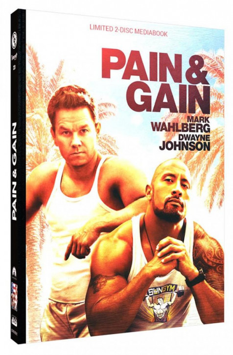 Pain & Gain - Limited Mediabook Edition - Cover C [Blu-ray+DVD]