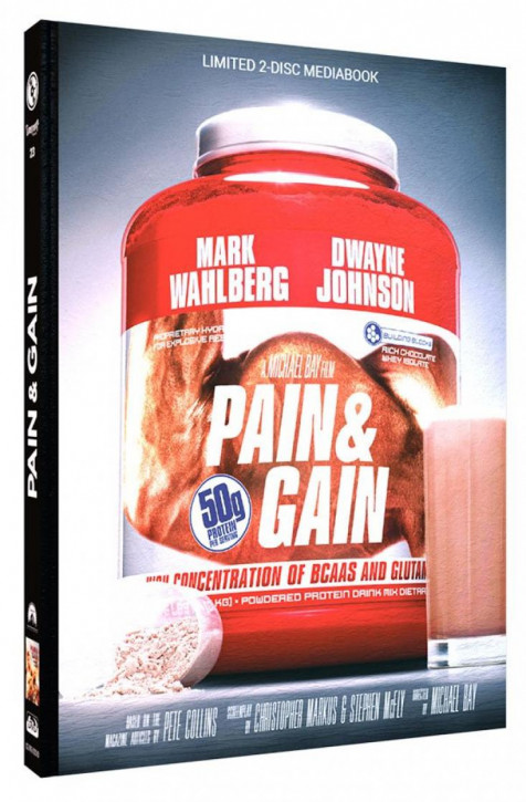 Pain & Gain - Limited Mediabook Edition - Cover D [Blu-ray+DVD]