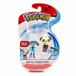 Pokemon Battle Figure Pack - Pancham & Riolu