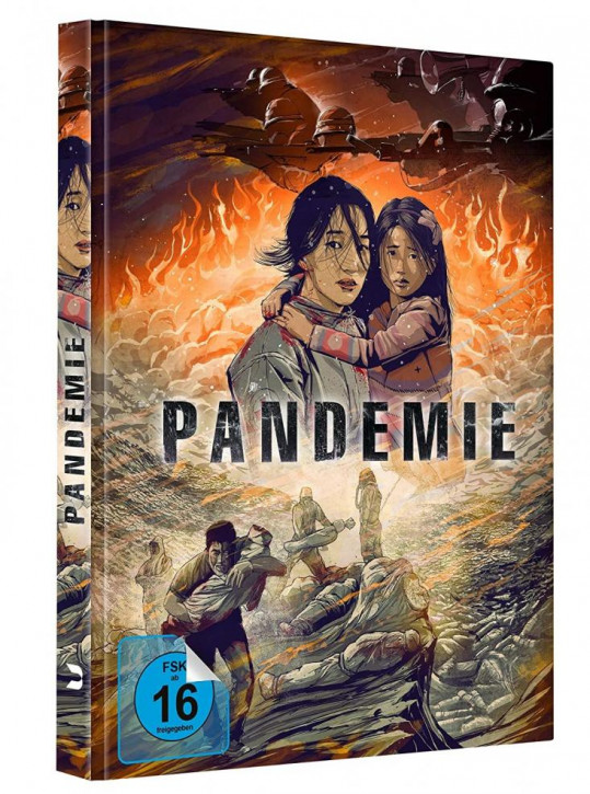 Pandemie - Limited Mediabook Edition [Blu-ray]