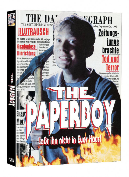 The Paperboy - Limited Mediabook Edition - Cover A (Super Spooky Stories #152) [DVD]