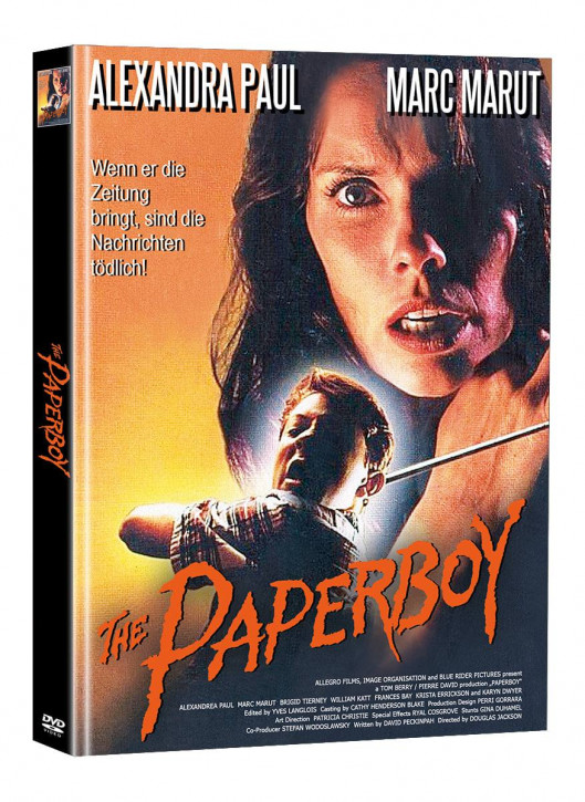 The Paperboy - Limited Mediabook Edition - Cover B (Super Spooky Stories #152) [DVD]