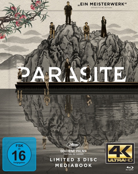Parasite  - Limited Mediabook Edition - Cover A [4K UHD+Blu-ray]