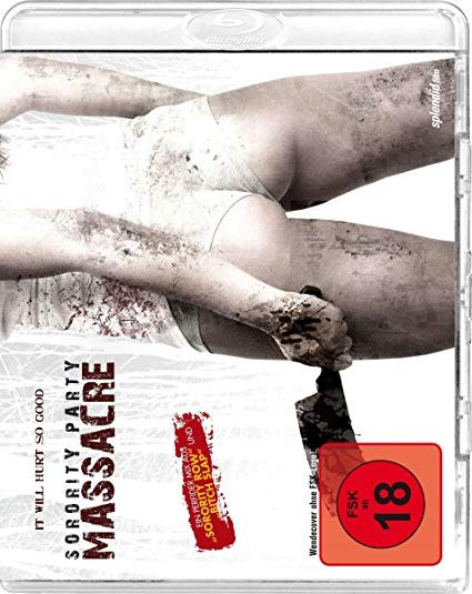 Sorority Party Massacre [Blu-ray]