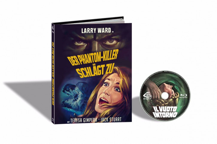 L´ Assassino Fantasma aka Il Vuoto Intorno (Der Phantom-Killer schlägt zu) - Limited Mediabook Edition - Cover E [Blu-ray]