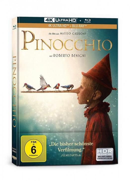 Pinocchio - Limited Mediabook Edition [4K UHD+Blu-ray]