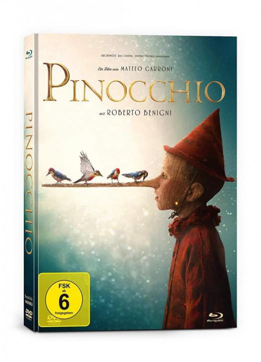 Pinocchio - Limited Mediabook Edition [Blu-ray+DVD]