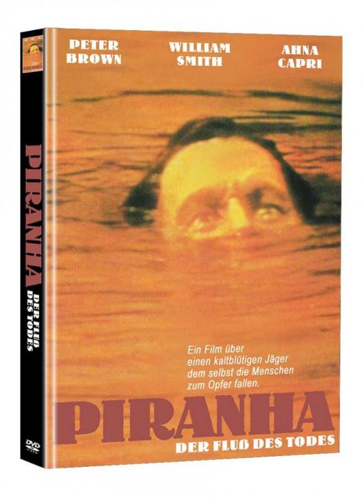 Piranha - Der Fluss des Todes - Limited Mediabook Edition (Super Spooky Stories #141) - Cover B [DVD]