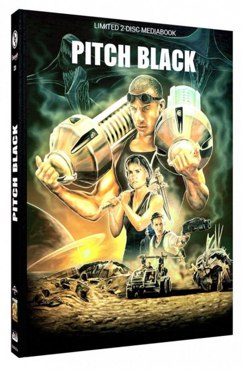 Pitch Black - Limited Mediabook Edition - Cover A [Blu-ray+DVD]