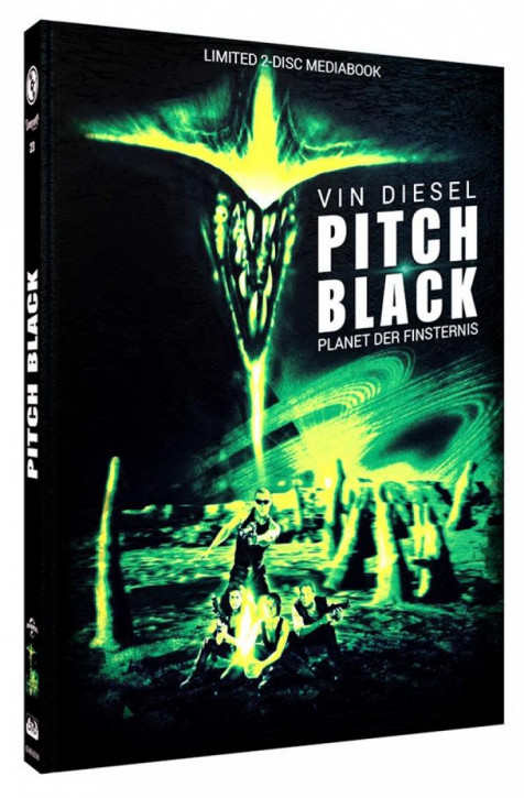 Pitch Black - Limited Mediabook Edition - Cover B [Blu-ray+DVD]
