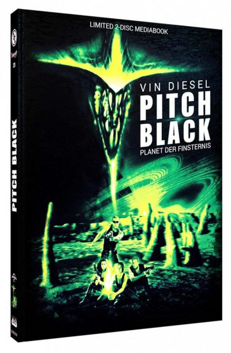Pitch Black - Limited Mediabook Edition - Cover B [Blu-ray+DVD]