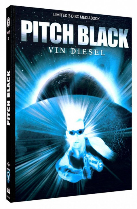 Pitch Black - Limited Mediabook Edition - Cover C [Blu-ray+DVD]