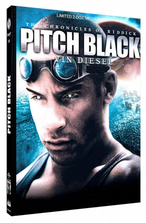 Pitch Black - Limited Mediabook Edition - Cover D [Blu-ray+DVD]