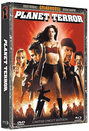 Planet Terror - Limited Mediabook Edition - Cover A [Blu-ray+DVD]