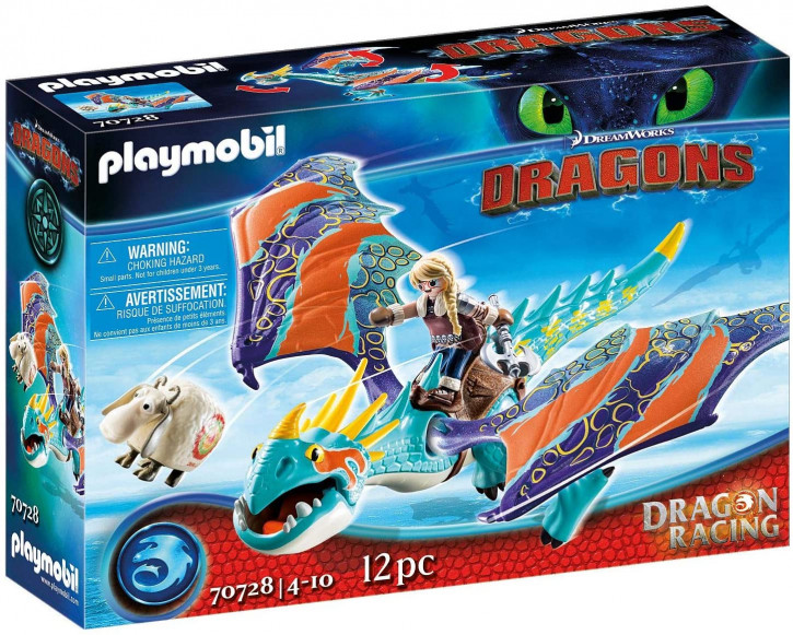 Playmobil - DreamWorks Dragons 70728 - Dragon Racing: Astrid und Sturmpfeil