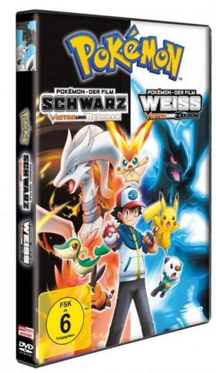 Pokemon - Der Film: Schwarz - Victini und Reshiram / Weiß - Victini und Zekrom [DVD]