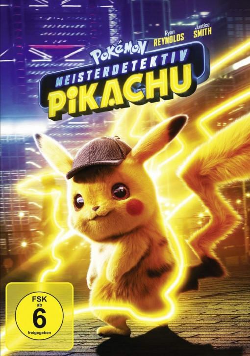 Pokemon Meisterdetektiv Pikachu [DVD]