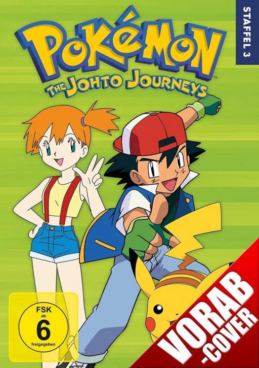 Pokemon - Staffel 3: Die Johto Reisen [DVD]