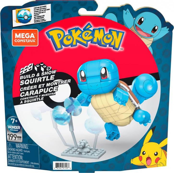 Pokémon - Mega Construx Wonder Builders Bauset - Schiggy