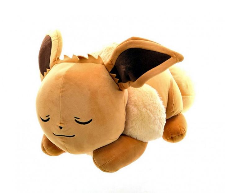 Pokémon - Plüschfigur - Schlafender Evoli