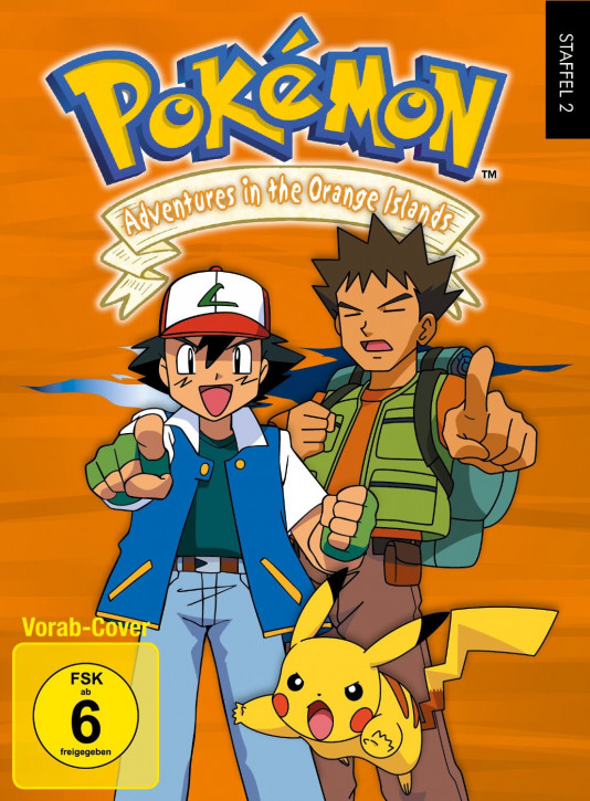 Pokémon - Staffel 2: Adventures in the Orange Islands [DVD]