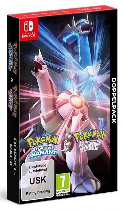 Pokémon Strahlender Diamant und Pokémon Leuchtende Perle - Doppelpack [Nintendo Switch]