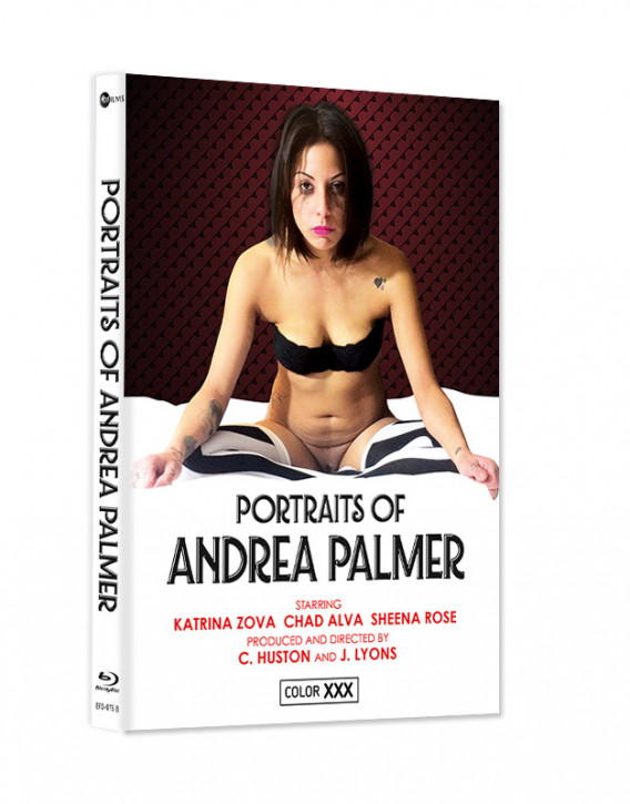 Portraits of Andrea Palmer - Cover B - Mediabook [Blu-ray+DVD]