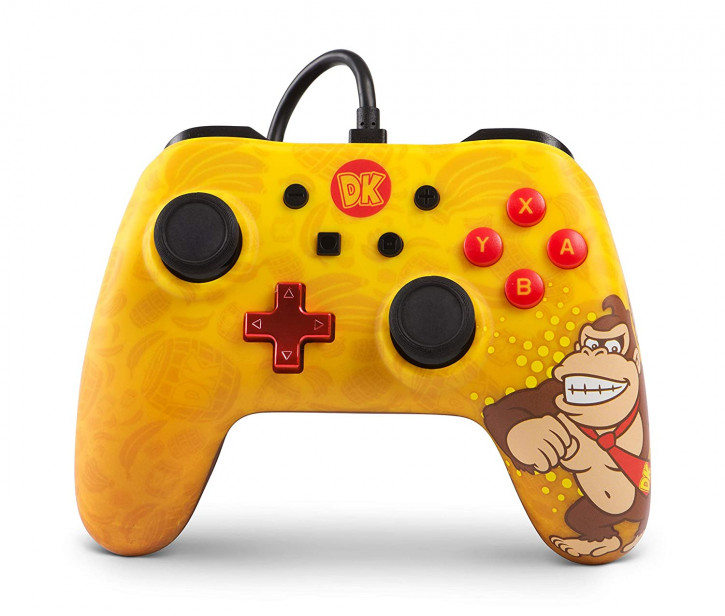 PowerA - Wired Controller - Donkey Kong [Nintendo Switch]