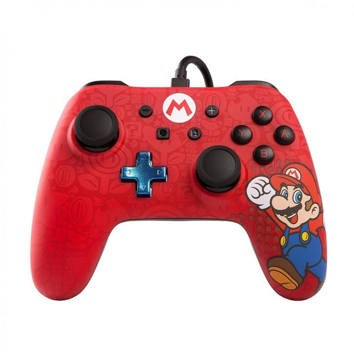 PowerA - Wired Controller - Mario [Nintendo Switch]