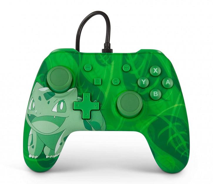 PowerA - Wired Controller - Bulbasaur [Nintendo Switch]