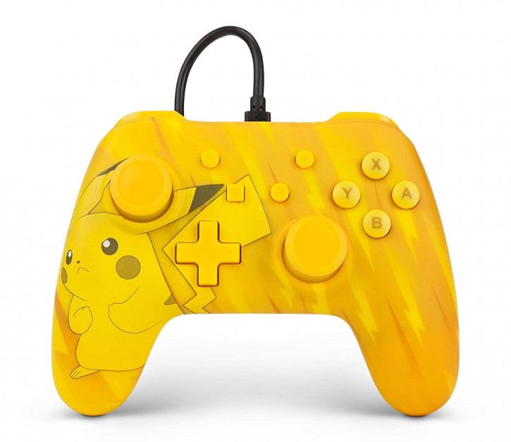 PowerA - Wired Controller - Pikachu [Nintendo Switch]