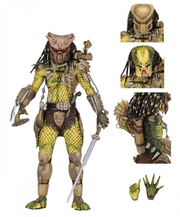 Predator 1718 - Actionfigur Ultimate Elder - The Golden Angel