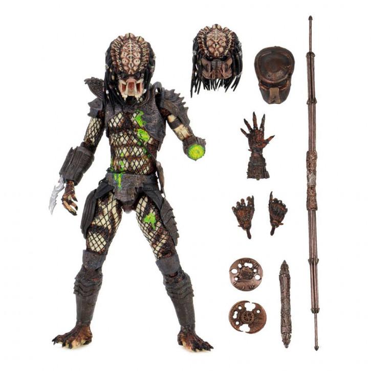 Predator 2 - Actionfigur Ultimate - Battle-Damaged City Hunter