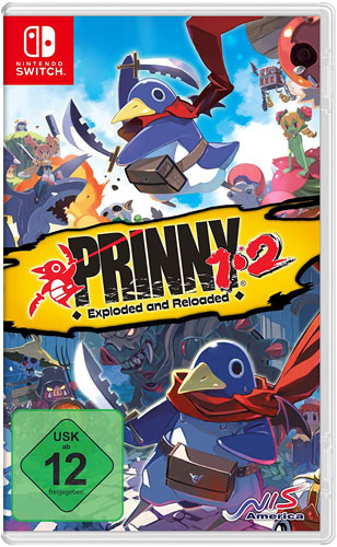 Prinny 1+2 Exploded and Reloaded [Nintendo Switch]