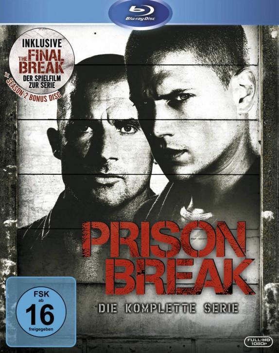Prison Break: Staffel 1 - 4 [Blu-ray]