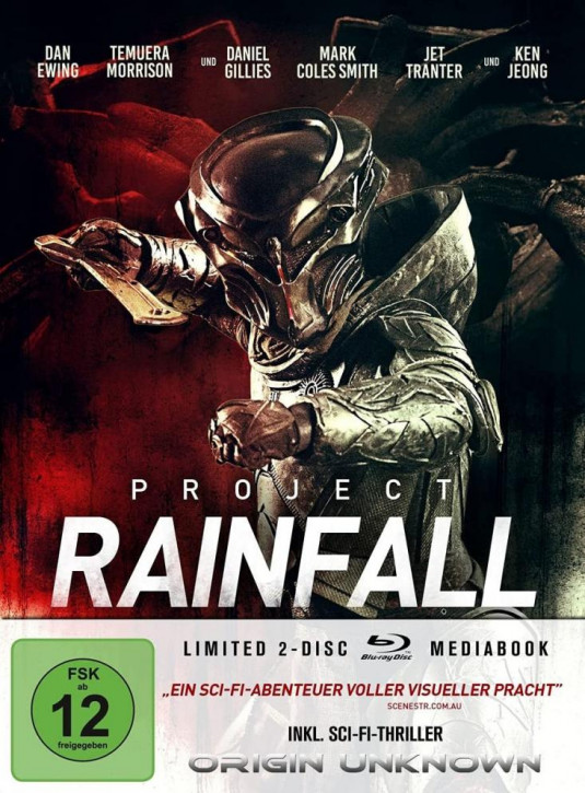 Project Rainfall - Limited Mediabook Edition [Blu-ray]