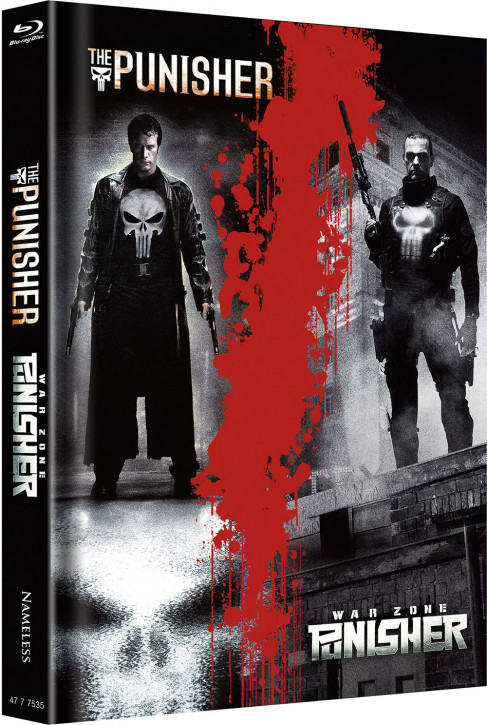 Punisher - Double Feature - Limited Mediabook Edition [Blu-ray]