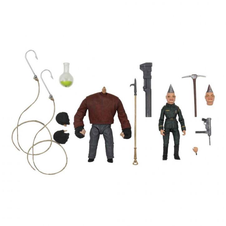 Puppet Master - Ultimate Actionfiguren Doppelpack - Pinhead & Tunneler