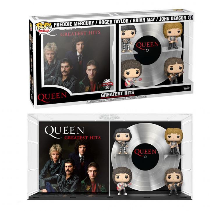 Queen POP! - Albums Vinyl Figuren 21 - 4er-Pack Greatest Hits