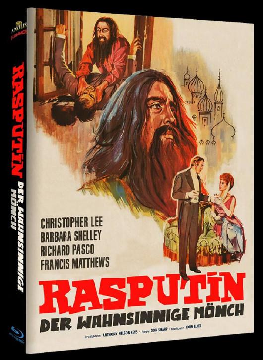 Rasputin der Wahnsinnige Mönch - Hammer Edition - Cover B [Blu-ray]